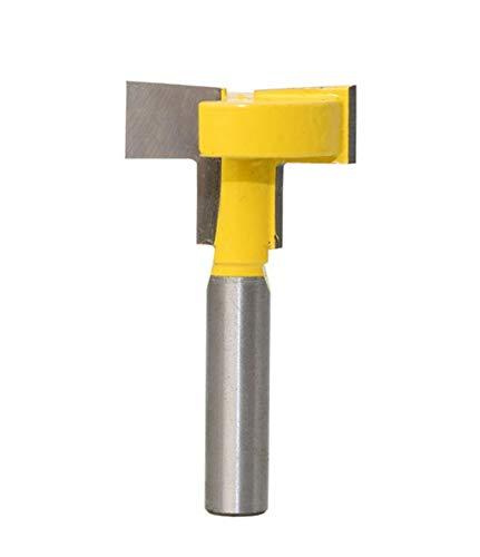 Meccion t-slot & t-track slotting fresa codolo 8mm professionale del legno dritto cutter tools