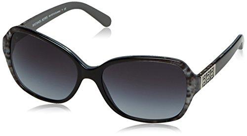 Michael Kors Damen MK6013 Cuiaba Sonnenbrille, Grau (Grey Snake 302011), One size (Herstellergröße: 57)