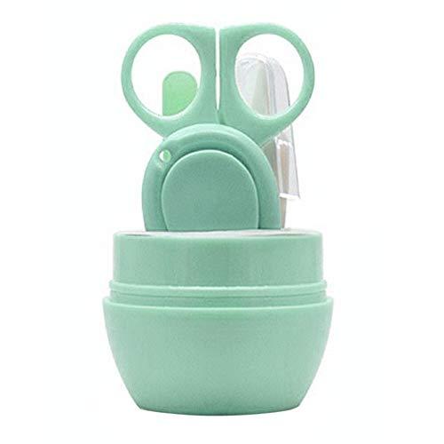 YUELANG Nagelknipser Trimmer Schneider Kind Baby Kleinkind Finger Zehen Nagelknipser Sicherheit Maniküre Set Verwenden (Color : Green) - Finger-nagelknipser Großes