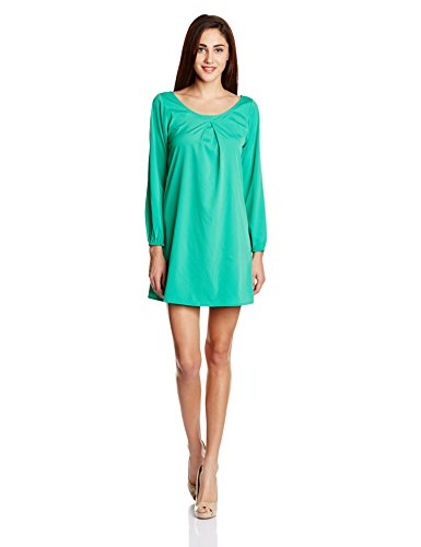 Anaphora Women's Skater Dress (56193_Cuban Green_X-large)  available at amazon for Rs.449