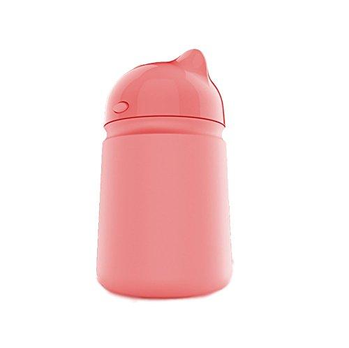 RUIX Auto Luftreiniger Aromatherapie Ätherisches Öl Spray Luftreiniger Beseitigen Geruch Auto Mit Negativen Ionen Mini-Sauerstoff-Bar,Pink