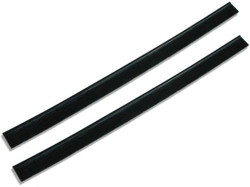 2 x escobilla limpiacristales GBPro de doble filo y hoja de goma de 35cm