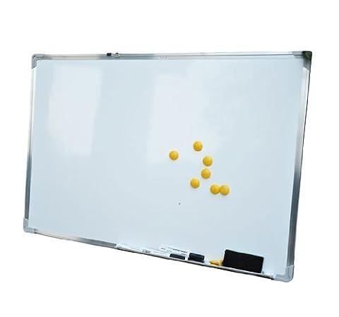 Homcom® Whiteboard Magnettafel Wandtafel Weißwandtafel magnetisch mit