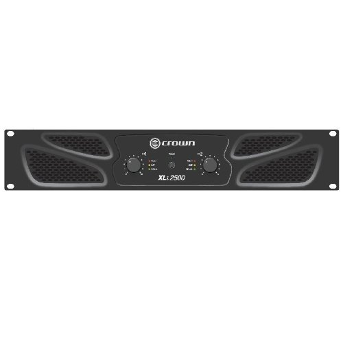Crown XLi 2500 Amplificador PA puenteable 1500W RMS