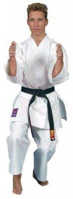 Preisvergleich Produktbild HARA Karateanzug MATSUMURA unbestickt Gr.180 für Kataanzug & Wettkampfanzug