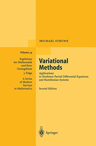 Variational Methods: Applications to Nonlinear Partial Differential Equations and Hamiltonian Systems