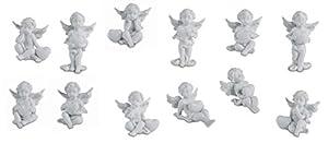 Katerina Prestige-Figura-Conjunto de 12ángeles corazón, hf1431