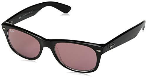 Ray-Ban Herren 0RB2132 Sonnenbrille, Schwarz (Black/Trasparent), 51