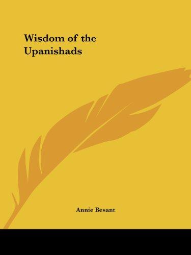 Wisdom of the Upanishads (1925)