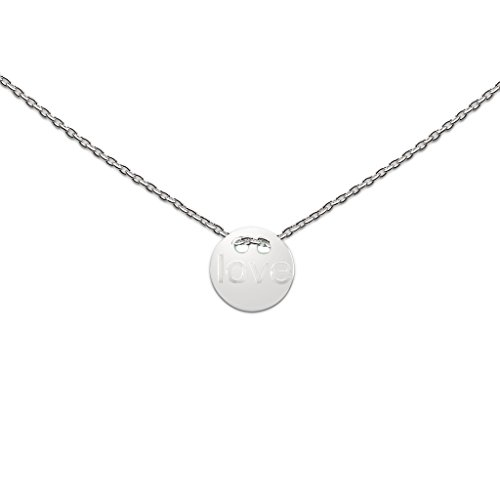 heart to get N07LOC11S Damen Collier I love you Sterling-Silber 925 44 cm