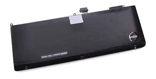 vhbw Batterie 7200mAh (10.95V) pour Ordinateur Portable Notebook Apple MacBook Pro 15 comme A1321