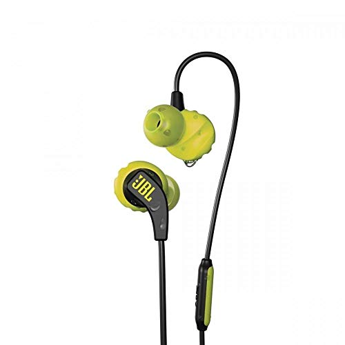 JBL Endurance Run Sweat-Proof Sports in-Ear Headphones with One-Button Remote and Microphone (Yellow) Image 6