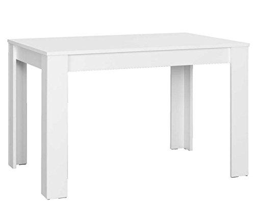 Tavolo Bianco 120 X 80.Cavadore Nick Tavolo Bianco 120 X 80 Cm
