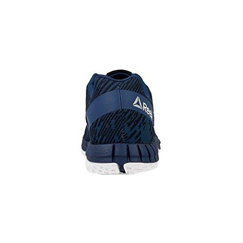 Reebok Zprint Run Hazard Gp, Baskets Donna Blu (bleu Marine / Bleu Marine / Blanc)