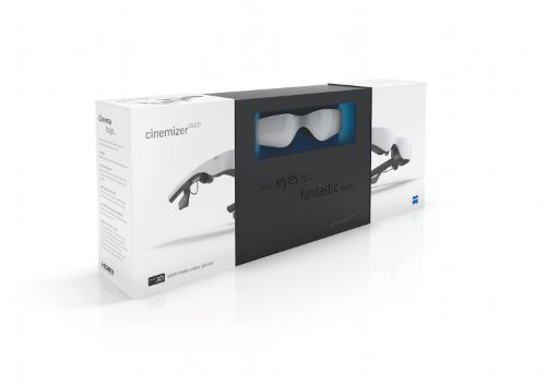 Cinemizer OLED 3D-Videobrille ZEISS inklussive HDMI Adapter