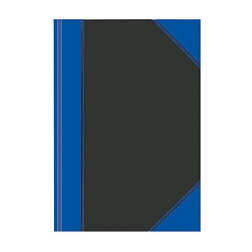 Herlitz Chinakladde A4, Fester Einband, 1 Stück, 100 Blatt Liniert