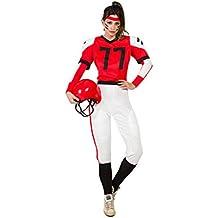 Disfraz Jugadora Rugby XL