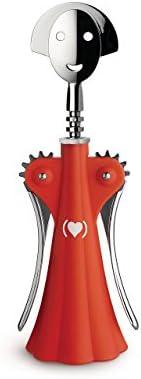 Alessi AM01 Red Anna G. Cavatappi in Resina Termoplastica e Zama Cromata, (PRODUCT)RED Special Edition, Rosso