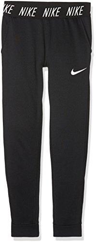 Nike-fitness-studio (Nike Mädchen Dry Core Studio Hose, Black/White, M)