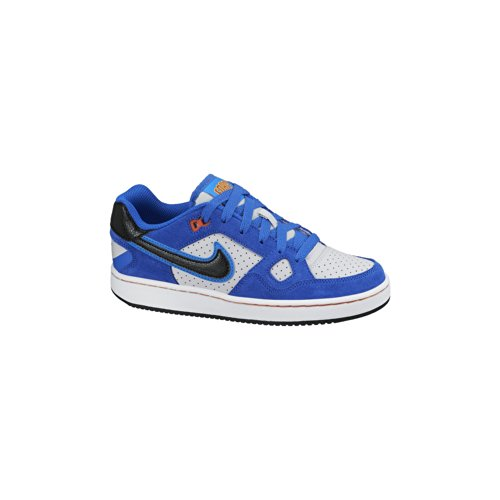Nike Son Of Force 615153 Jungen Low-Top Sneaker Plateado / Negro / Amarillo