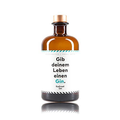 Flaschenpost Gin - Gib deinem Leben einen Gin - Handmade Premium Gin aus Deutschland - ideales Geschenk mit frischen Zitrus-Noten