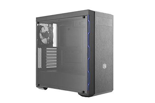 Cooler Master MasterBox MB600L with ODD, Blue trim PC Gehäuse 'ATX, microATX, mini-ITX, USB 3.0, Seitenfenster' MCB-B600L-KA5N-S01 - Mini-itx Computer-system