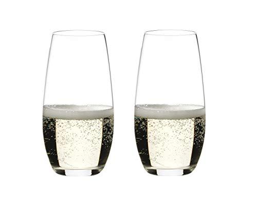 """Riedel, Champagner-Glas \""""O\"""" 2er Set, 0414/28"""