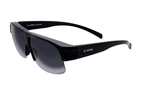 Joysun polarisierte LensCovers Sonnenbrille Unisex tragen über Korrekturbrille 9006