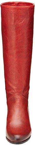 Pastelle Nina, Bottes Classiques femme Rouge
