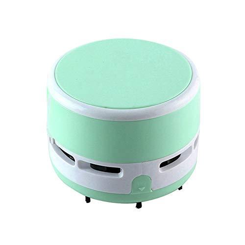 Coomir Drahtloser Tragbare Mini Vakuum-Schreibtisch Reiniger Staub Kehrmaschine für Büro Tastatur Zuhause blau (Schreibtisch Staub-reiniger)
