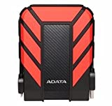 ADATA HD710 2TB Durable Shockproof External Hard Drive, Red