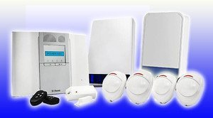 VISONIC POWERMASTER-30 G2 LATEST STATE OF THE ART WIRELESS BURGLAR ALARM SYSTEM WITH 2 LIVE BELL BOXES by Visonic