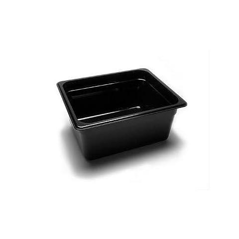 Cambro 26CW148 Camwear Food Pan, Plastic, 1/2 Size, 6