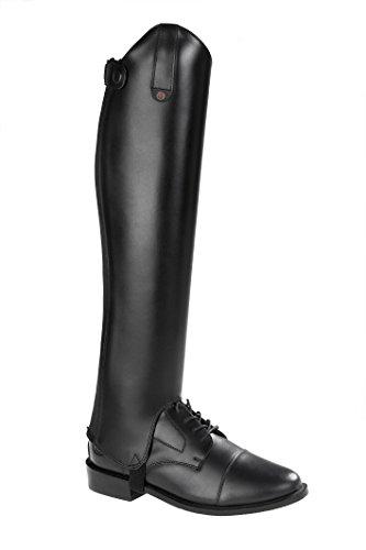 SUEDWIND FOOTWEAR Chap »Comfort FIT« Eleganter Stiefelschaft aus Rindleder | Reitschaft mit Robustem Leder und Innenleder | auch in Kindergrößen erhältlich| Farben: Schwarz & Braun - XLM 42/51