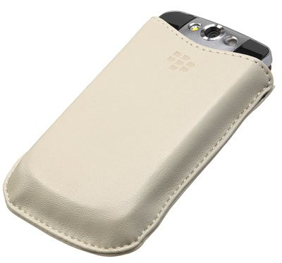Blackberry Pearl Flip Koskin Pocket Fall (Oyster) -