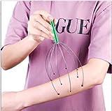 2 en 1 Masseur de Tête de Cheveux Scalp Massager Tenus dans la Main Petit Gadget pour La Relaxation de Tension