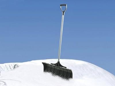 Schneeschaufel Schneeschieber aus hochwertigem Kunststoff / Stahl