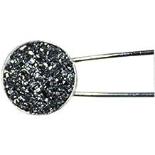 Blumenbrosche Pin Atemberaubende Emaille und Perlenananas