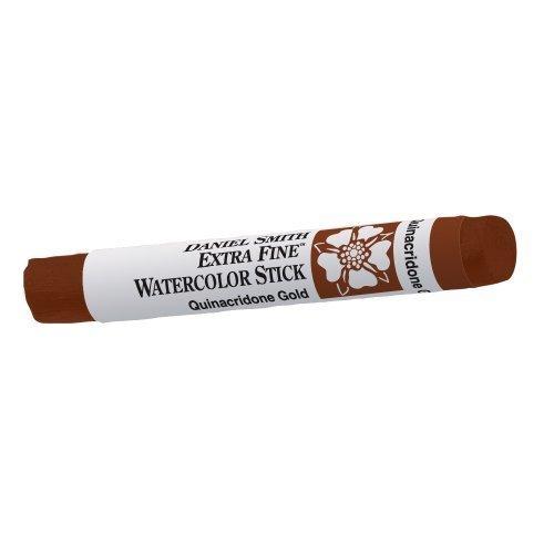 Daniel Smith Extra Fine T-Shirt Watercolor Stick - 12 ml (- Paint Tube, Quinacridone (Rosa Chinacridon), Gold by Daniel Smith