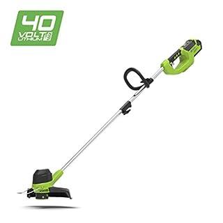 Greenworks Coupe-bordure sans fil sur batterie 30cm 40V Lithium-ion (sans batterie ni chargeur) - 2101507