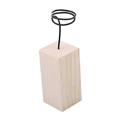 Ellepigy Luftpflanzenbehälter Stand Halter Tischplatten Garten Blumen Gras Schreibtisch Präsentationsständer (6cm) (Gras Schreibtisch)