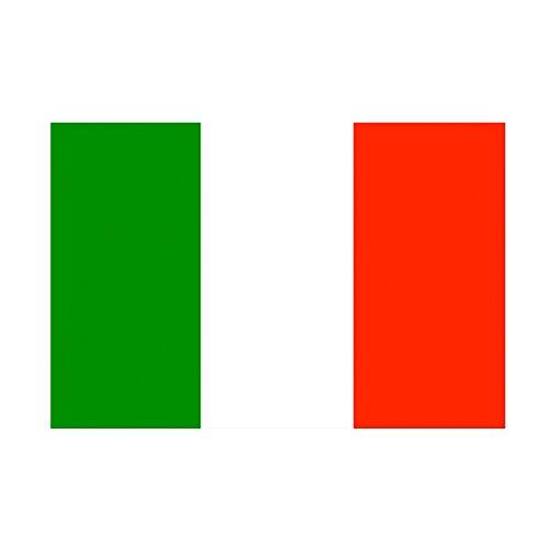 Taffstyle® Fanartikel Fussball Weltmeisterschaft WM & EM Europameisterschaft 2016 Länder Flagge Fahne 150cm x 90 cm mit Metallösen - Italien - Em-set