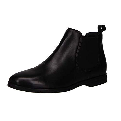 Salamander Damen Chelsea Boots Größe 41 Schwarz (schwarz)