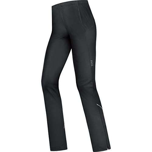 GORE WEAR Damen Pants Essential Windstopper Soft Shell Hose Black, 38 Essential Windstopper