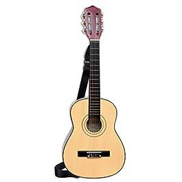 Bontempi 21 7520 – Chitarra in Legno con Bretella, 75 cm