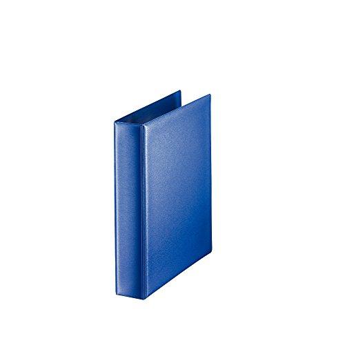 Leitz 46040035 Ringbuch Premium, A5, PP, 2 Ringe, 25 mm, blau (Binder A5)