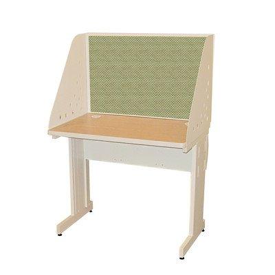 Pronto Training Tisch Finish: Eiche Laminat/Bimsstein Finish, Größe: 121,9cm W x 61cm D, Stoff Farbe: Periodit -