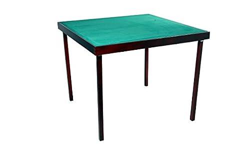 TABLE DE BRIDGE PLIABLE 100x100x72CM