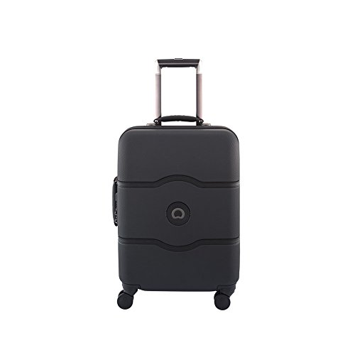 Trolley Cabina 55 Cm 4 Ruote | Delsey Chatelet Hard + | 001670803-Nero