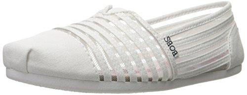 Skechers, scarpe bobs per freddo, di lusso, bianco